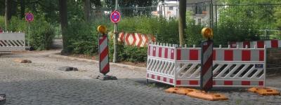 Parkplatzabbau